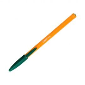 Długopis bic orange - zielony