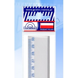 Linijka plastikowa 30 cm